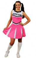 Pink Cheerleader Costume (ILFD4059)